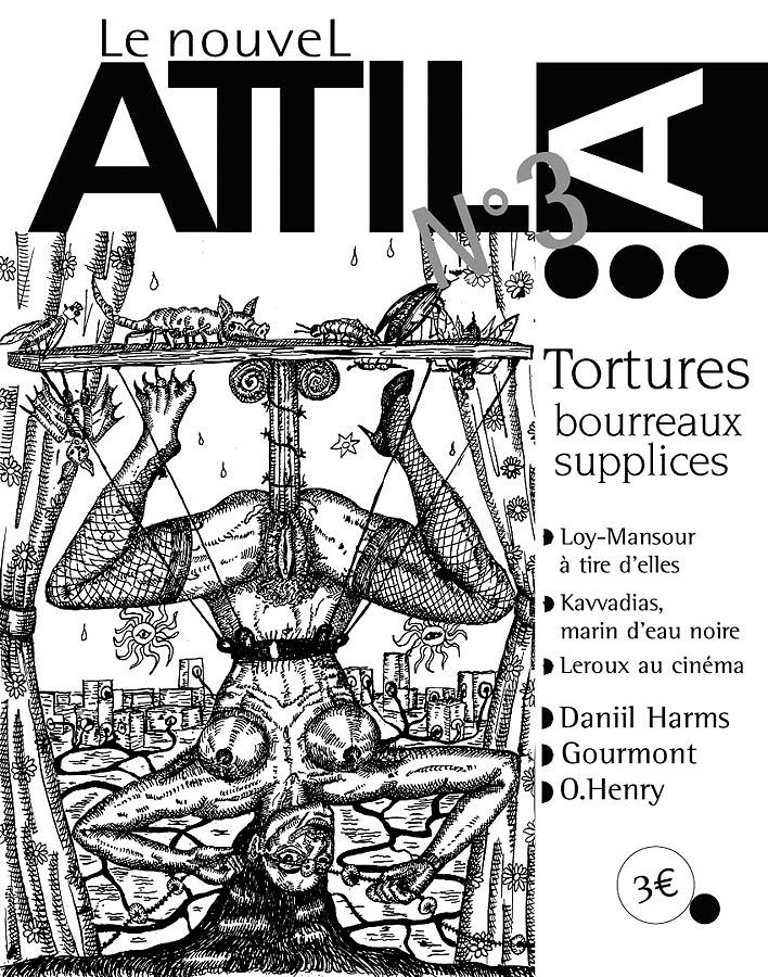 revue Le Nouvel Attila n°3 collector